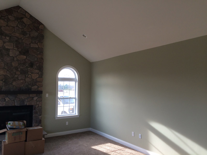 Painted Family Room in Reading PA