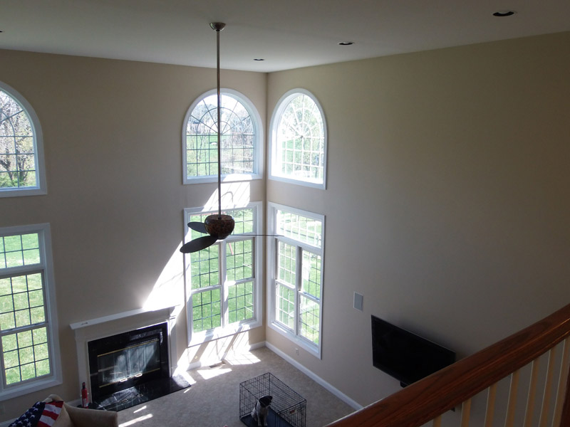 Painted Family Room in Breinigsville Pa