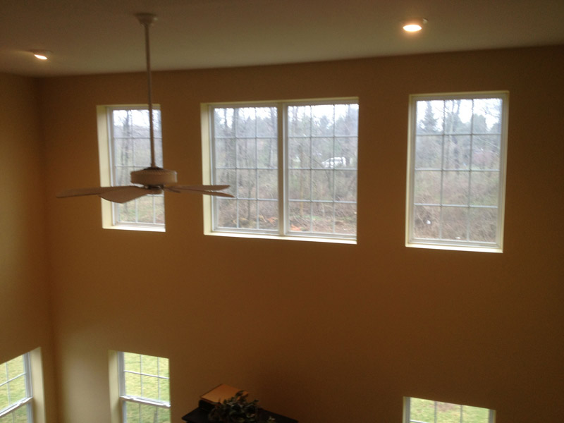 Golden Painted Family room in Wyomissing PA