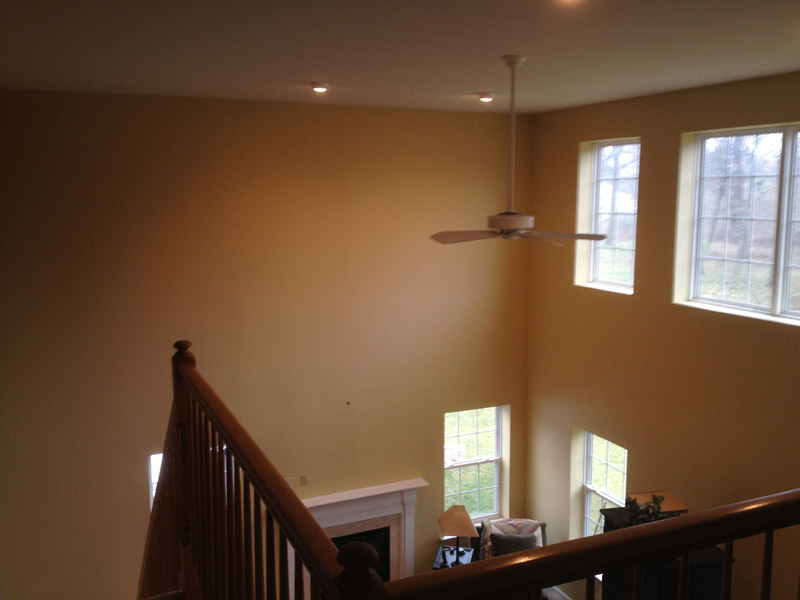 Painted Great Room in Wyomissing PA