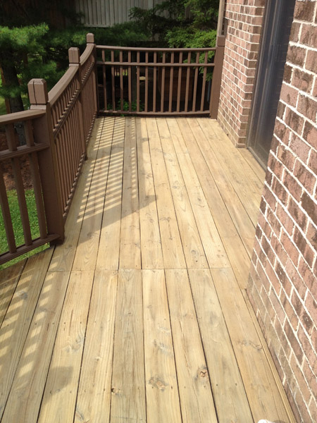 Deck Staining Before Mohnton