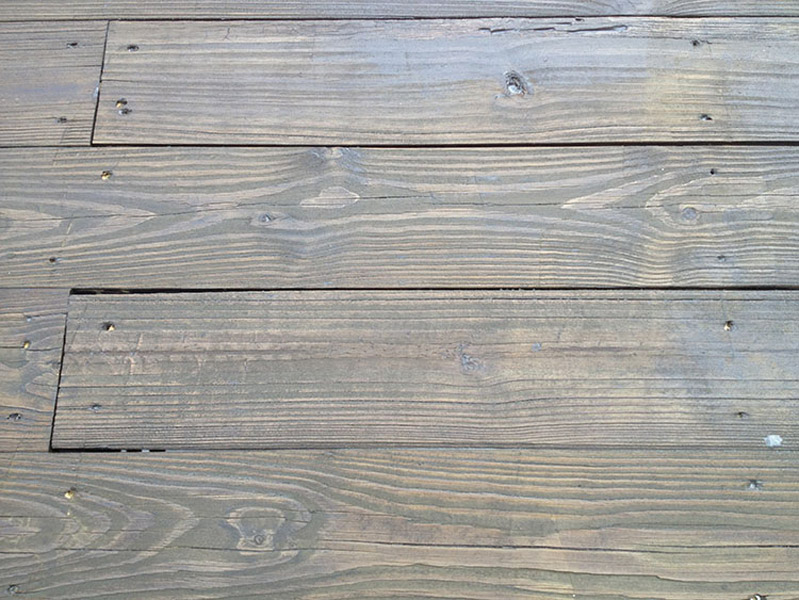 Ebony Stained Deck Reading PA