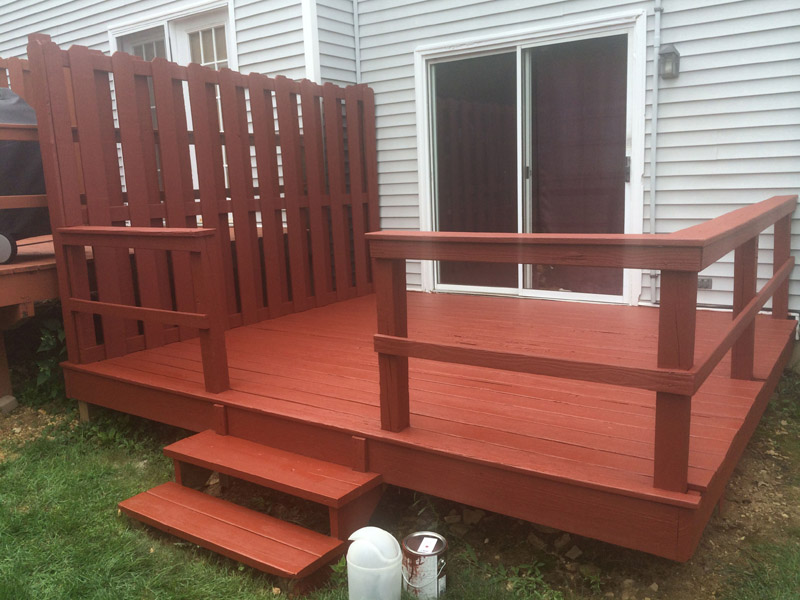 Deck Staining Macungie PA