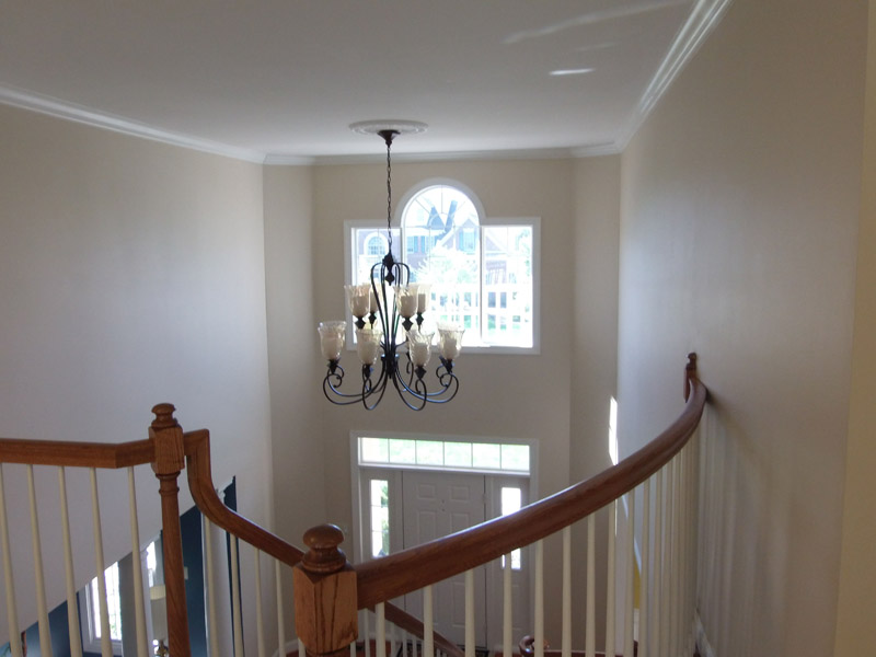Painted Foyer in Breinigsville Pa
