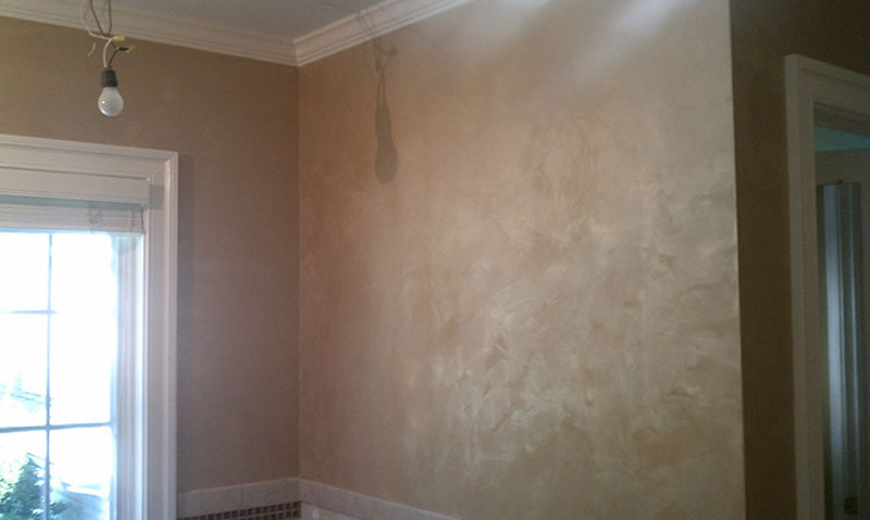 Faux Painted Bathroom Wyomissing PA