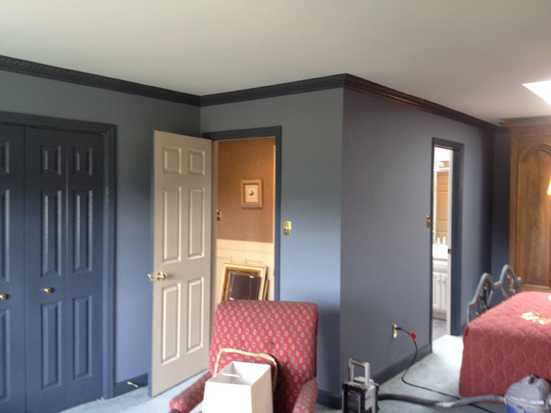 Painted Bed Room In Fleetwood PA
