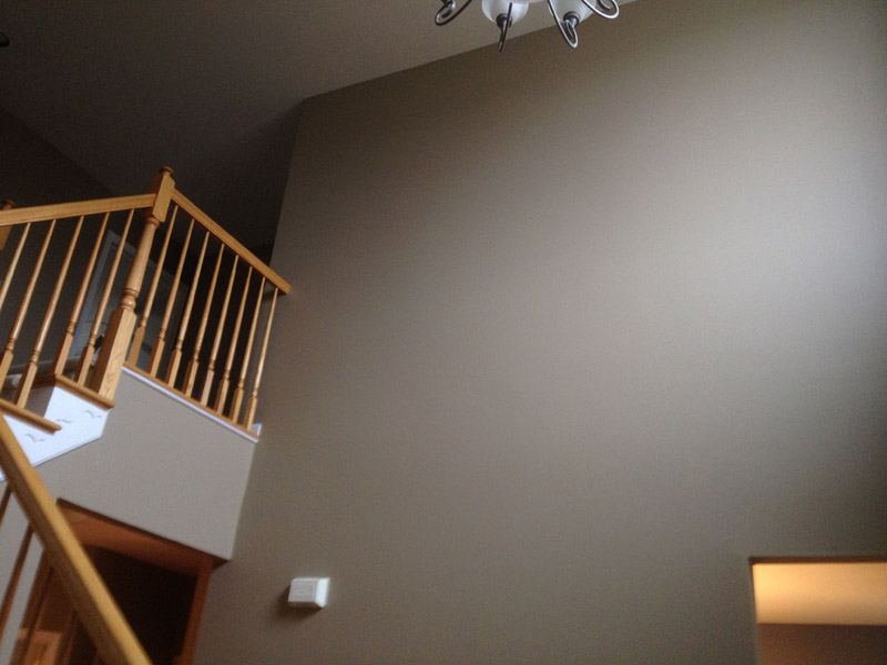 Grey painted foyer in Reading Pa