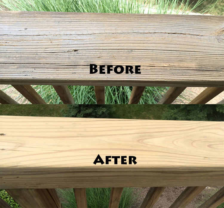 Deck Staining Prep Comparison