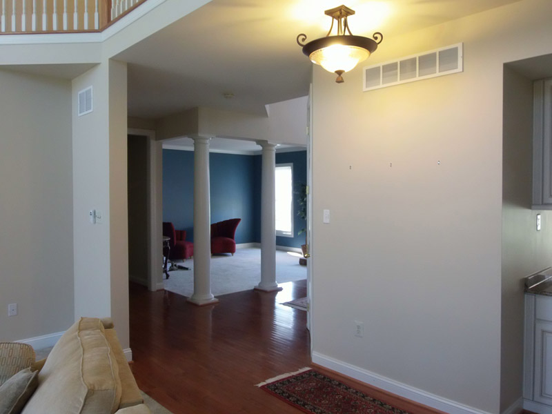 Interior painting of a house in Macungie Pa